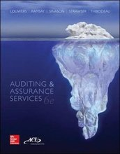 Auditing and Assurance Services Louwers 6th Edition Test Bank