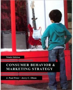 Test Bank for Consumer Behavior and Marketing Strategy, 9th Edition: J. Paul Peter