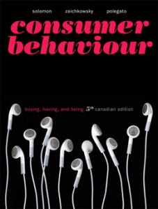 Test Bank for Consumer Behaviour Buying Having and Being, 5th Canadian Edition: Solomon