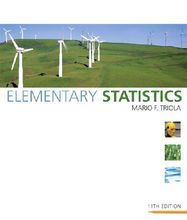 Elementary Statistics Triola 11th Edition Test Bank