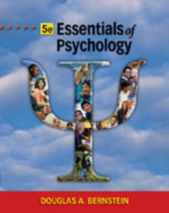 Test Bank for Essentials of Psychology, 5th Edition: Bernstein