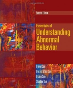 Test Bank for Essentials of Understanding Abnormal Behavior, 2nd Edition : Sue