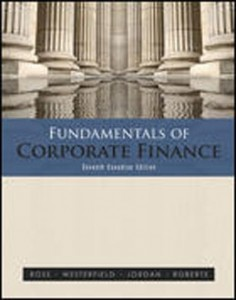 Test Bank for Fundamentals of Corporate Finance, 7th Canadian Edition: Ross