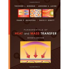 Fundamentals of Heat and Mass Transfer Bergman 7th Edition Solutions Manual