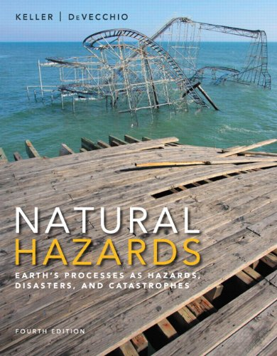 Test bank for Natural Hazards 4th 0133907651 / 9780133907650