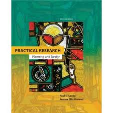 Test Bank Practical Ormrod Design 10th Planning Leedy Research edition and