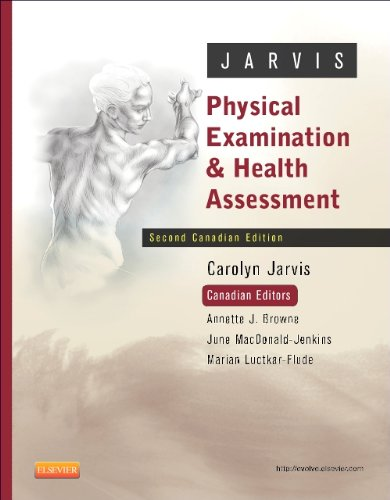 Test Bank Jarvis Physical Examination Health 2nd Canadian Edition