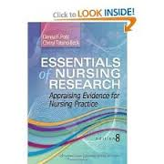 Test Bank Polit / Beck: Essentials of Nursing Research 6th or 7th Edition