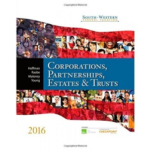 Test Bank for South-Western Federal Taxation 2016 Corporations, Partnerships, Estates and Trusts, 39th Edition by William H. Hoffman, Maloney, Raabe, Young