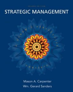Test Bank for Strategic Management A Dynamic Perspective Concepts 2nd Edition Mason A Carpenter