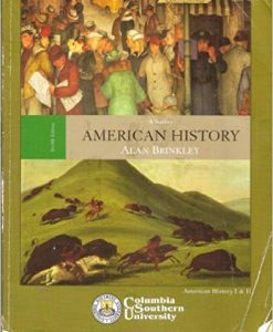 Test Bank for American History: A Survey 12th Edition