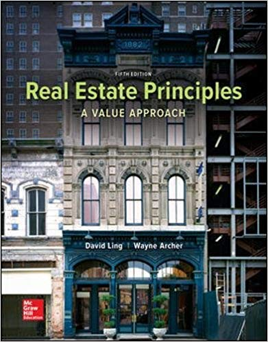 Test Bank for Real Estate Principles: A Value Approach 5th Edition