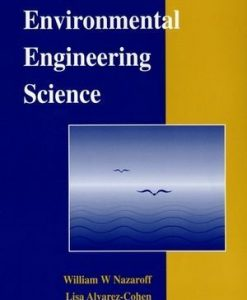 Solution manual for Environmental Engineering Science Nazaroff