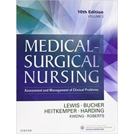 Test Bank for Medical Surgical Nursing 10th Edition by Lewis