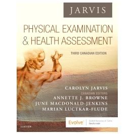 Test Bank for Physical Examination and Health Assessment 3rd CANADIAN Edition by Jarvis