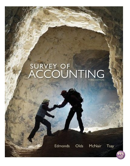Solution Manual for Survey of Accounting 3rd Edition by Edmonds