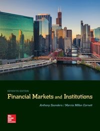 Test Bank for Financial Markets and Institutions 7th Edition By Saunders