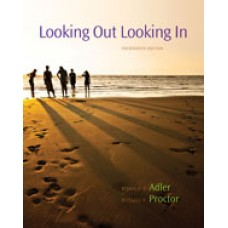 Test Bank for Looking Out, Looking In, 14th Edition