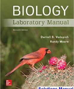 Biology Laboratory Manual 11th Edition Vodopich Solutions Manual