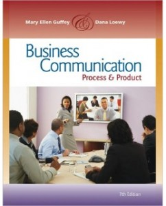 Test Bank for Business Communication, 7th Edition: Mary E. Guffey