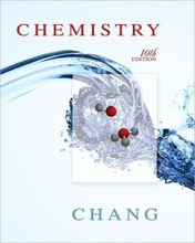 Chemistry Chang 10th Edition Test Bank