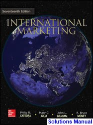 International Marketing 17th Edition Cateora Solutions Manual
