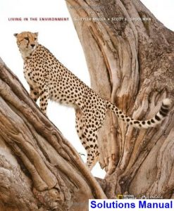 Living in the Environment 18th Edition Miller Solutions Manual
