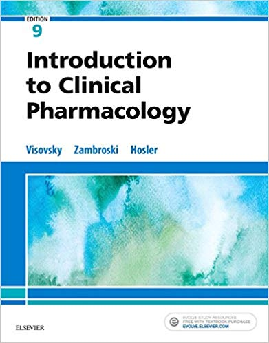 Test Bank for Introduction to Clinical Pharmacology 9th Edition