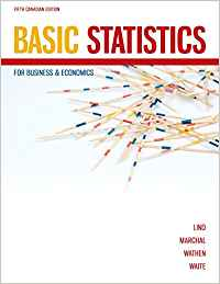 Solution Manual for Basic Statistics for Business & Economics 6th Canadian by Lind
