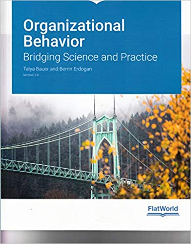 Test Bank for Organizational Behavior: Bridging Science and Practice Version 3.0