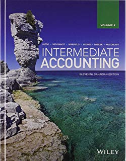 Test Bank for Intermediate Accounting, Volume 2, 12th Canadian by Kieso
