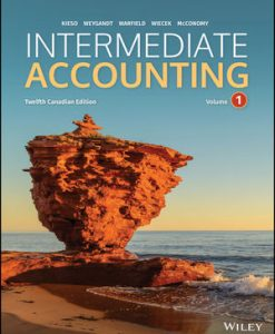 Test Bank for Intermediate Accounting, Volume 1, 12th Canadian by Kieso