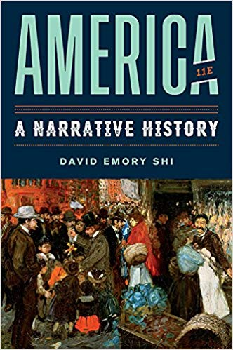 Test Bank for America A Narrative History 11th by Shi