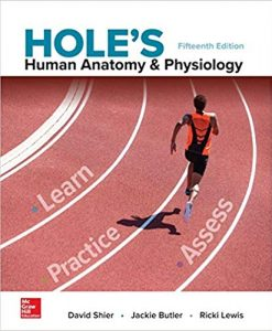Test Bank for Hole's Human Anatomy & Physiology 15th by Shier