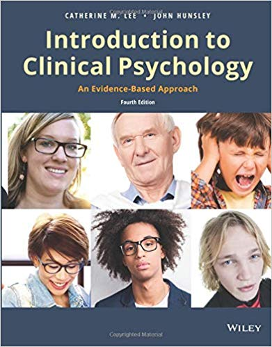 Test Bank for Introduction to Clinical Psychology, 4th Edition