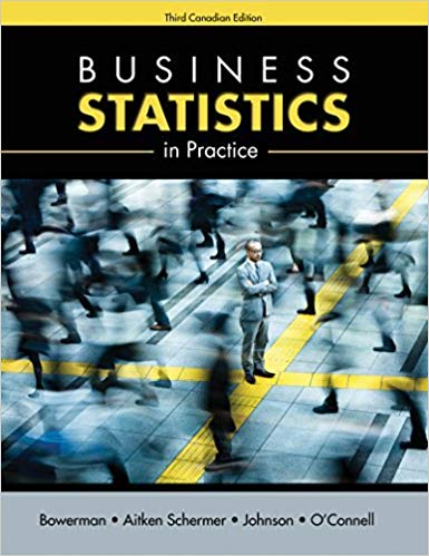 Solution Manual for Business Statistics in Practice Third Canadian Edition