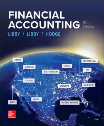 Solution Manual for Financial Accounting 10th by Libby