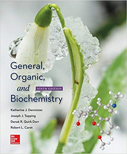 Test Bank for General, Organic, and Biochemistry 9th Edition