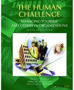 Solution Manual for Human Challenge, The: Managing Yourself and Others in Organizations, 7/E 7th Edition : 0130859559