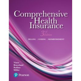 Test Bank for Comprehensive Health Insurance 3rd Edition by Vines