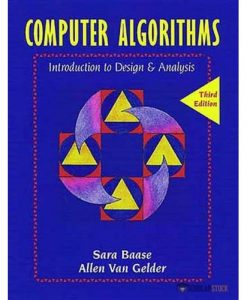 Solution Manual for Computer Algorithms: Introduction to Design and Analysis, 3/E 3rd Edition : 0201612445
