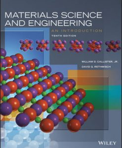 Solution Manual for Materials Science and Engineering An Introduction 10th by Callister