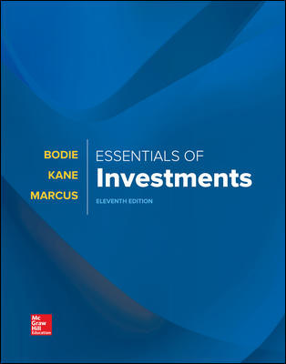 Test Bank for Essentials of Investments 11th by Bodie
