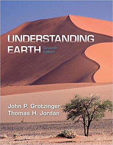 Test Bank for Understanding Earth Seventh Edition