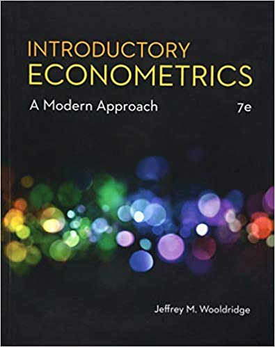 Solution Manual for Introductory Econometrics A Modern Approach 7th by Wooldridge