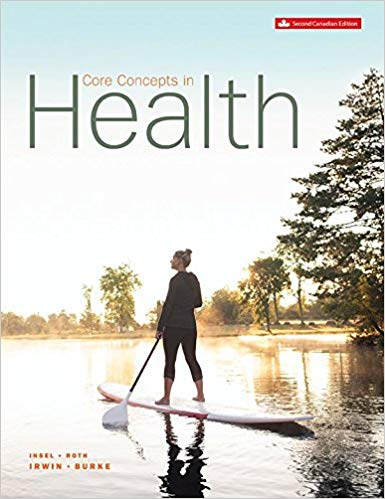 Test Bank for Core concepts in health 2nd Canadian Edition by Insel