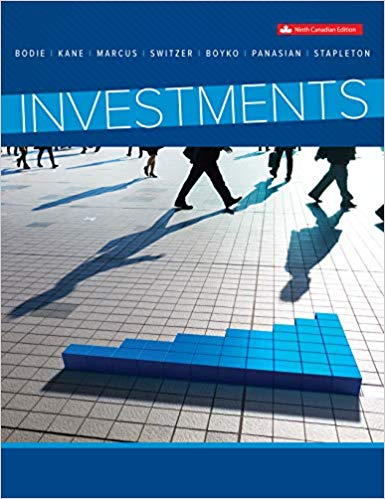 Solution Manual for Investments 9th Canadian by Bodie