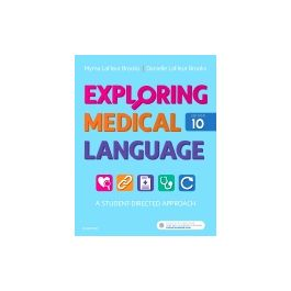 Test Bank for Exploring Medical Language 10th Edition by Brooks