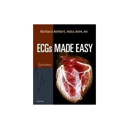 Test Bank for ECGs Made Easy 6th Edition by Aehlert