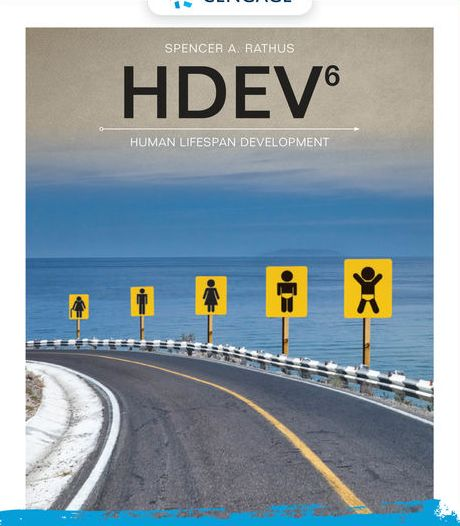 Test Bank for HDEV 6th Edition Rathus, ISBN-10: 0357040813 ISBN-13: 9780357040812